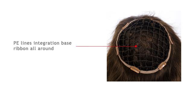 Integration hair system for women