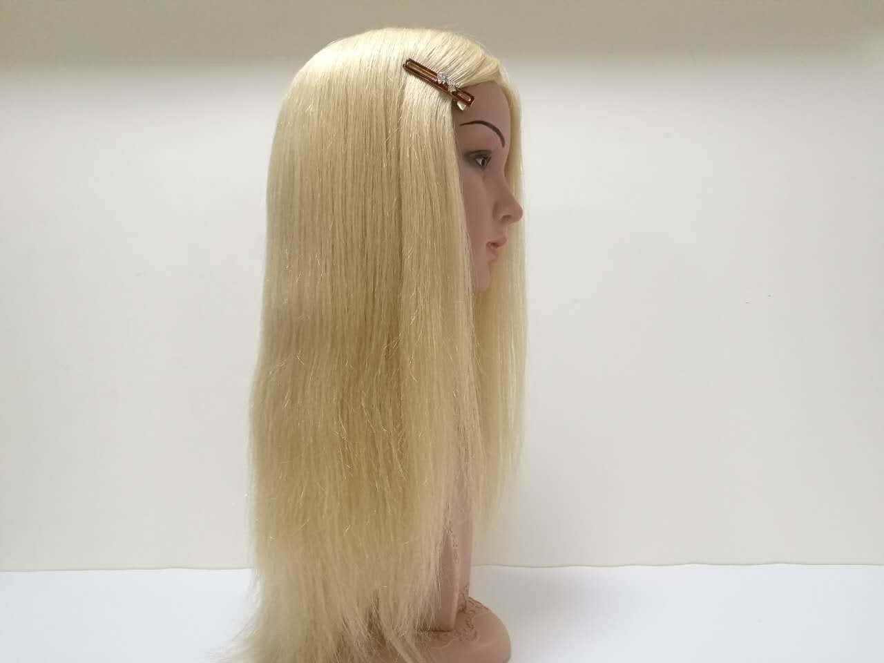 Blond All Hand Crafted Lace With Poly Women's Custom Hair Wig Manufacturers, Blond All Hand Crafted Lace With Poly Women's Custom Hair Wig Factory, Supply Blond All Hand Crafted Lace With Poly Women's Custom Hair Wig