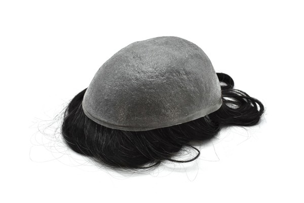 0.05mm Ultra Thin Skin V Looped Hair System In Stock