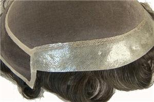لا يمكن الكشف عنها الجميلة أحادية الأعلى ايس الجبهة رجل الشعر نظم الباروكة