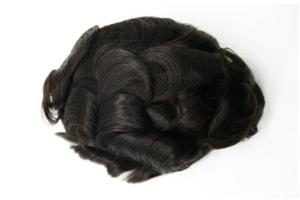 Fine Mono With Thin Skin And Lace Front Hairpieces For Men