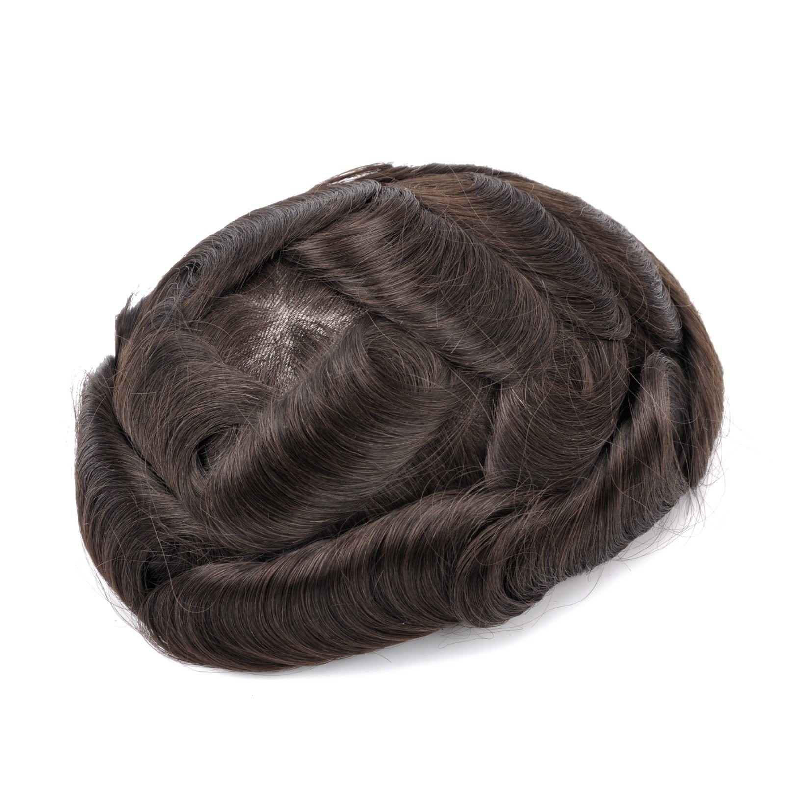 HHQ6 French Lace With Thin Skin Sides Back Men's Hair System Manufacturers, HHQ6 French Lace With Thin Skin Sides Back Men's Hair System Factory, Supply HHQ6 French Lace With Thin Skin Sides Back Men's Hair System