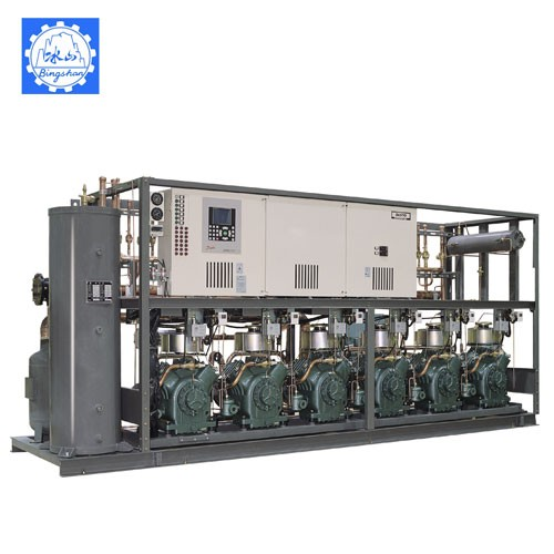 Tandem Central Compressor Unit (Low Temp Overcooled)
