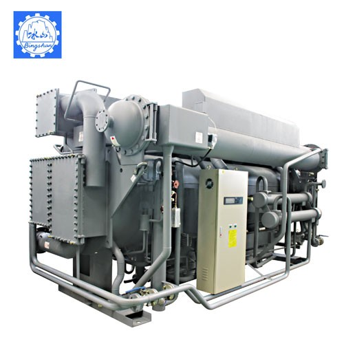 Steam Fired Double Effect LiBr Absorption Chiller