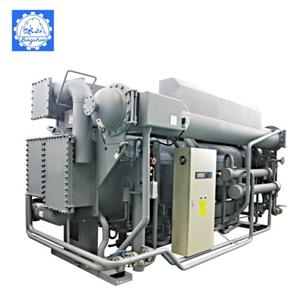 Steam Fired Double Effect LiBr Absorption Chiller/Heater