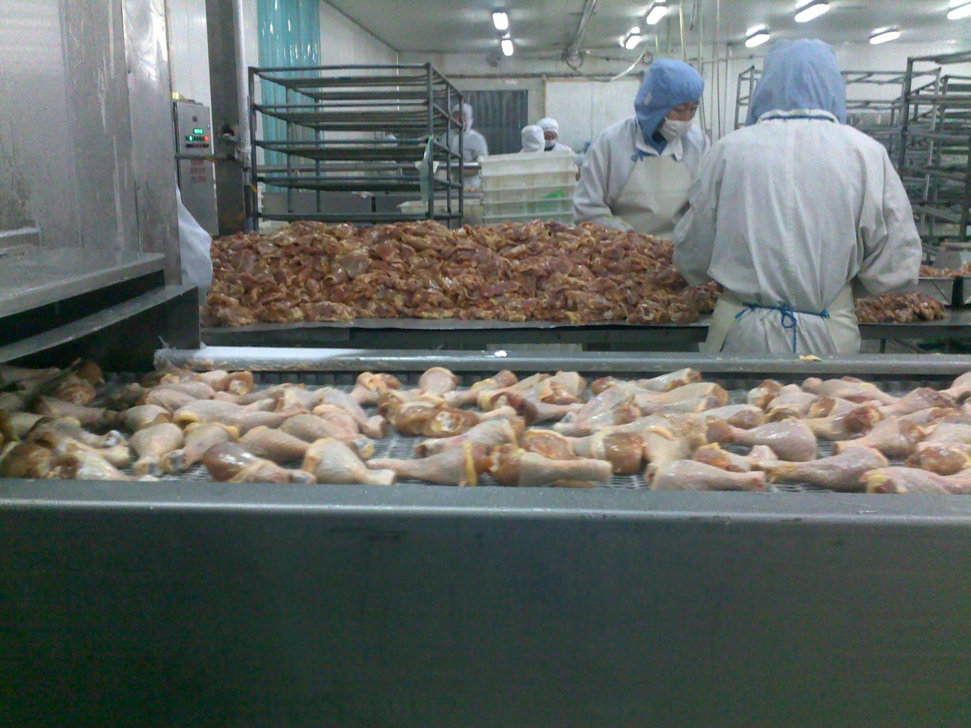 Spiral Freezer For Chicken Nugget Manufacturers, Spiral Freezer For Chicken Nugget Factory, Supply Spiral Freezer For Chicken Nugget
