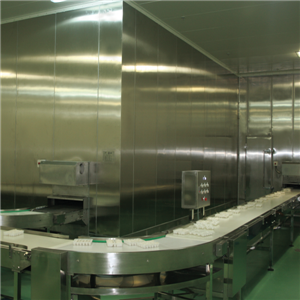 High Productivity 2000kg/h Spiral Freezer IQF