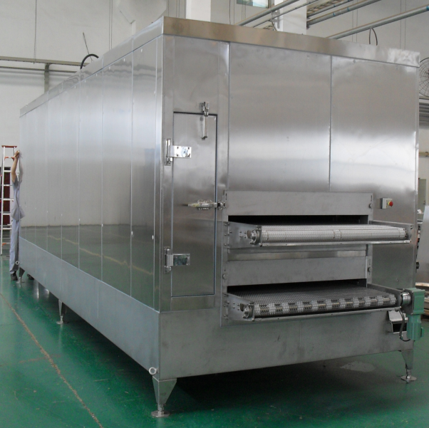 High Efficiency Mesh Belt Tunnel Freezer