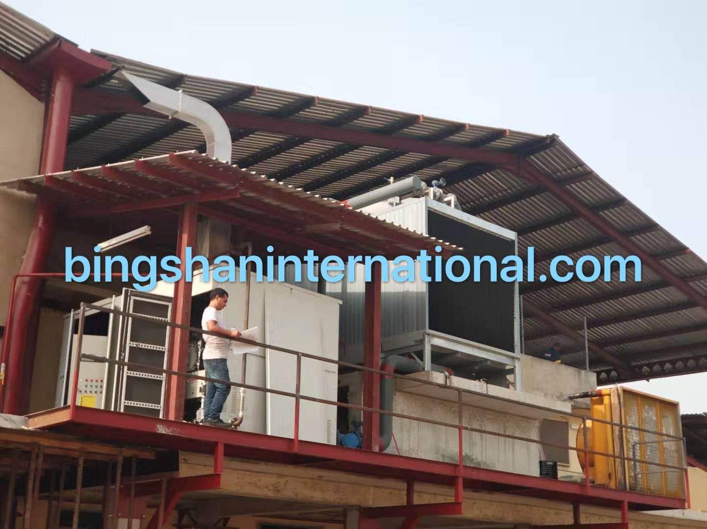 direct fired Libr absorption chiller