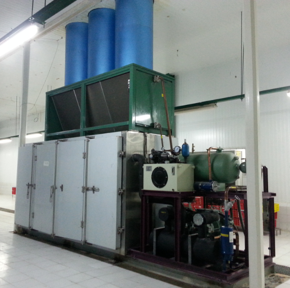 Plate Freezer With Air Blower