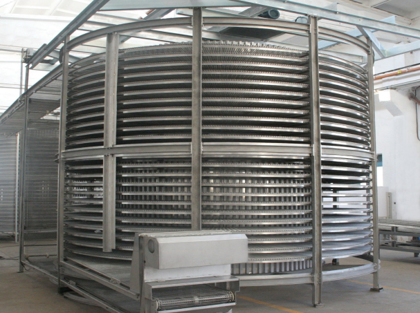 Chinese Double Spiral Freezer