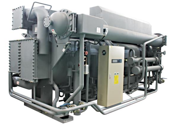 Gőzzel égethető kettős hatású LiBr abszorpciós hűtő