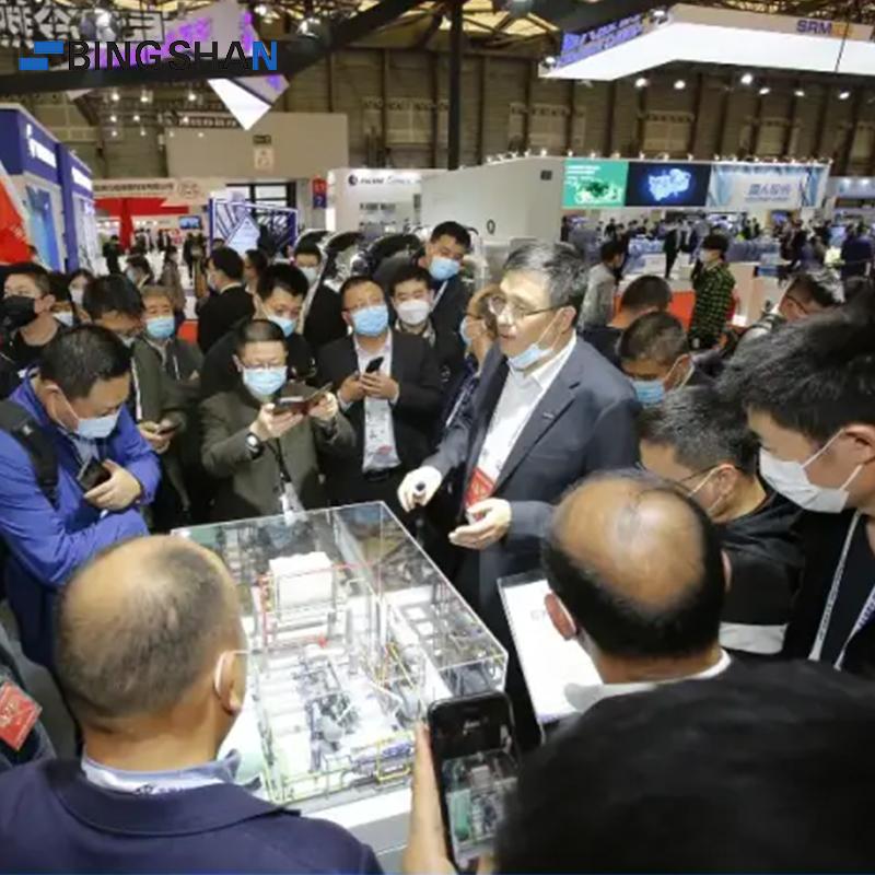 14 Empresas do GRUPO BINGSHAN apareceram na exposição de refrigeração 2021 na China (Xangai)
