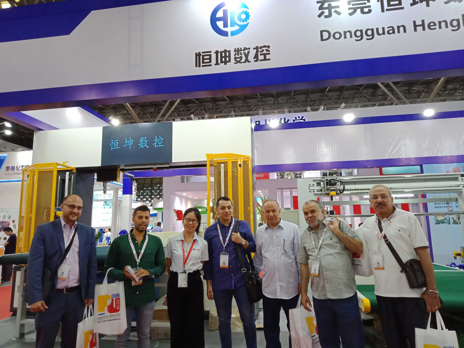 HengKun Appeard in 2018 PU China in Shanghai Atttracting Many Audience