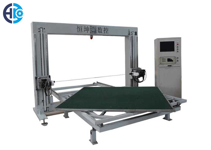 CNC Horizontal Oscillating Blade Cutting Machine With Rotating Table