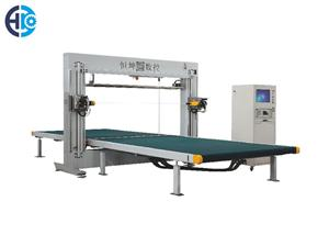 CNC Horizontal And Vertical Oscillating Blade Cutting Machine