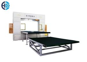 CNC Horizontal And Vertical Revolving Blade Cutting Machine