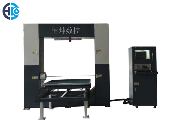CNC Horizontal Fast Wire Rigid Foam Cutting Machine