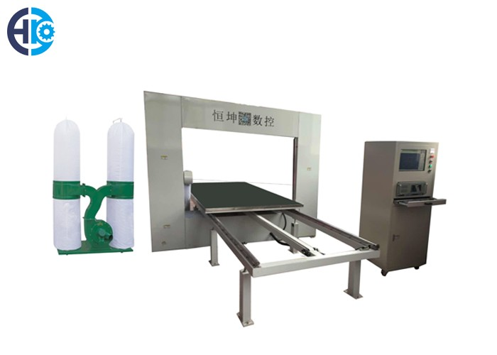 CNC Vertical Fast Wire Rigid Foam Cutting Machine