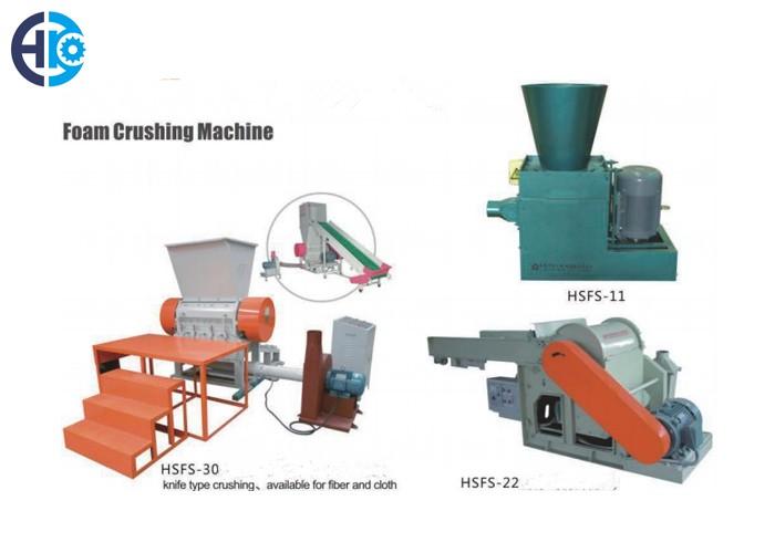 Foam Crushing Machine