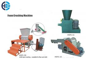 Foam Crushing Machine