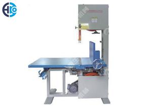 Vertical Foam Cutting Machine 2 Wheels