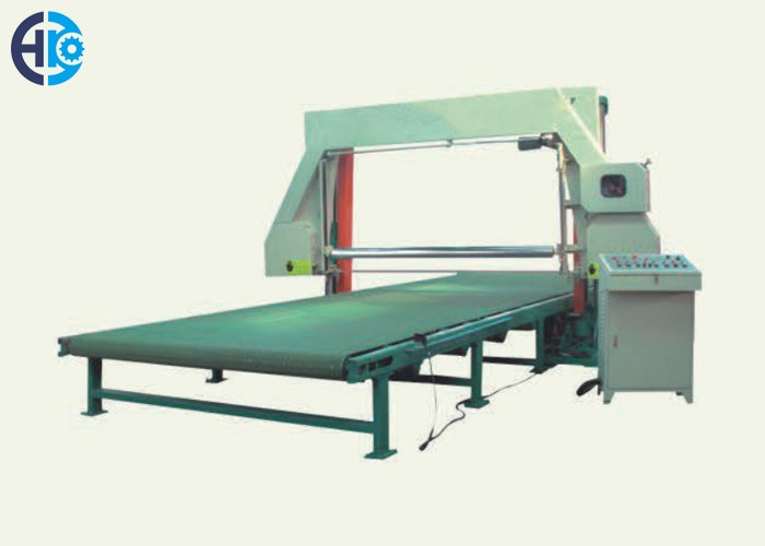 Horizontal Foam Mesh-belt Cutting Machine With Vacuum