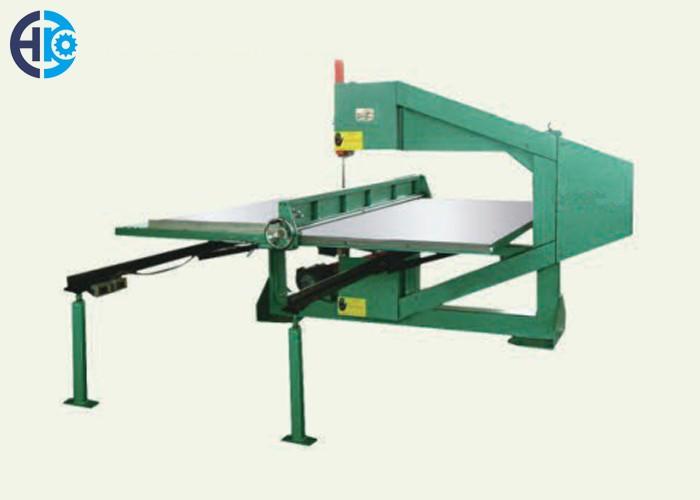 Vertical Foam Cutting Machine 3 Wheels