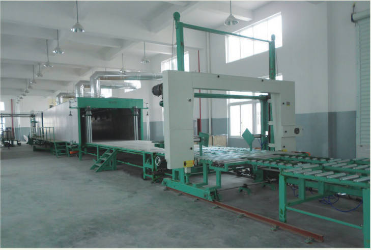 Horizontal Automatic Continuously Foaming Line