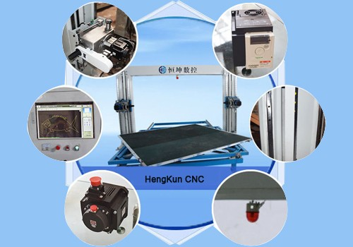 CNC Revolving Blade Contour Cutting Machine