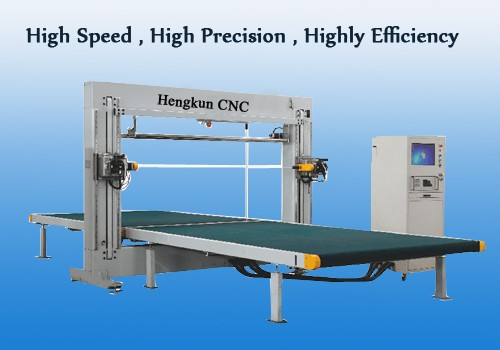 CNC Oscillating Blade Foam Cutting Machine