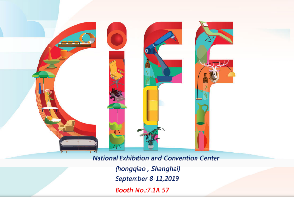 CIFF in Shanghai at Sep.8 to Sep.11