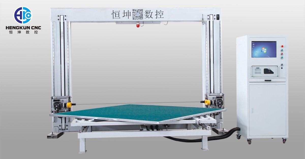 Автомат для резки лезвия CNC горизонтальный осциллируя с вращая столом