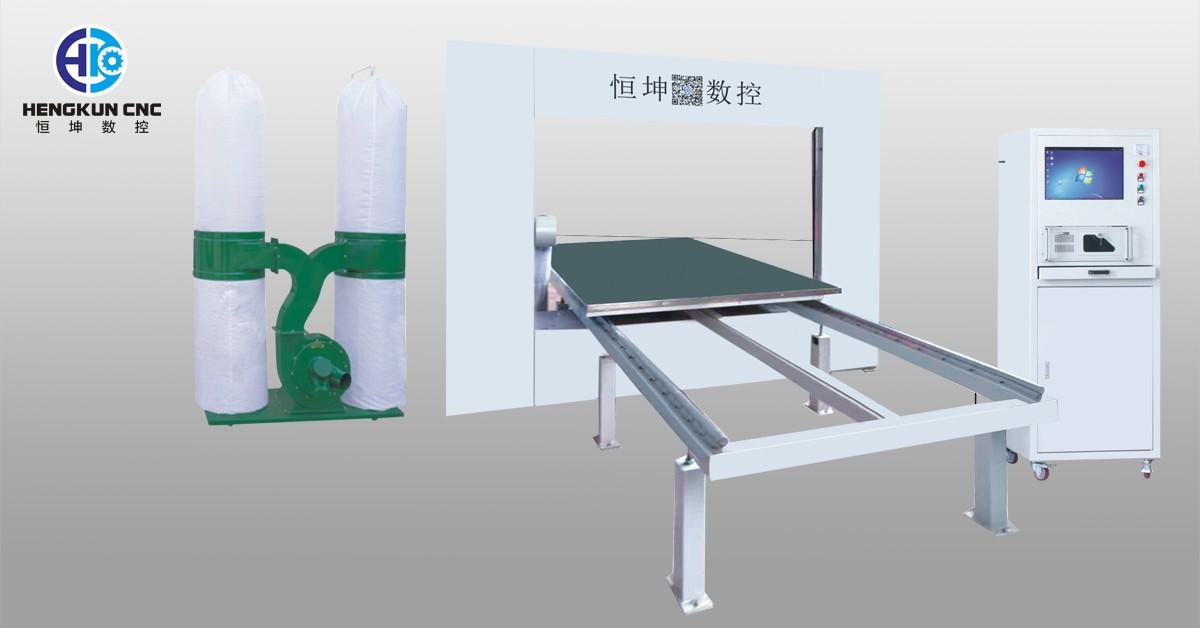 Cortadora de espuma rígida vertical de alambre rápido CNC