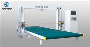 CNC Horizontal Oscillating Blade Cutting Machine With Conveyor