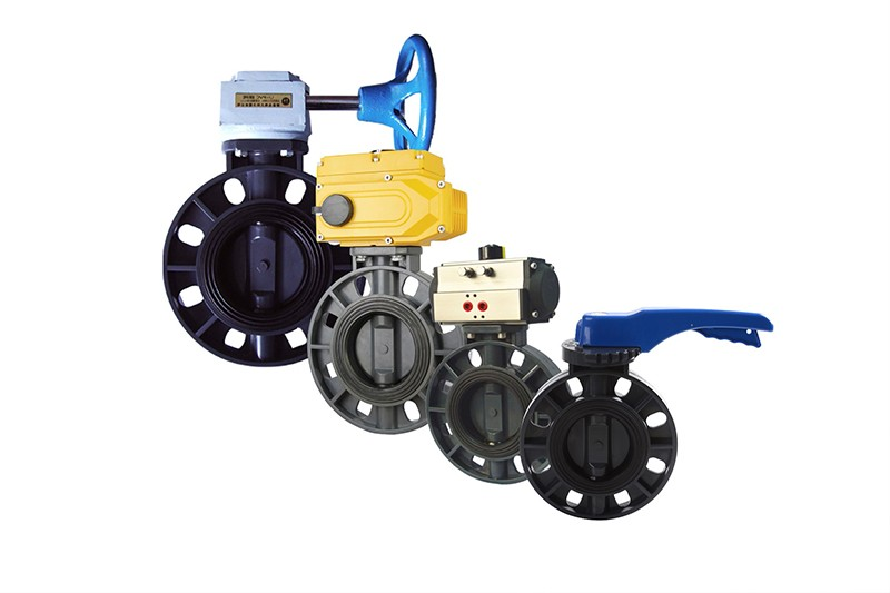 Pneumatic butterfly valve on-site use precautions