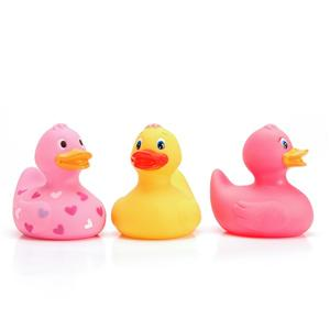 Soft Eco- Friendly Plastic Vinyl Bath Duck Toys For Baby Shower Time