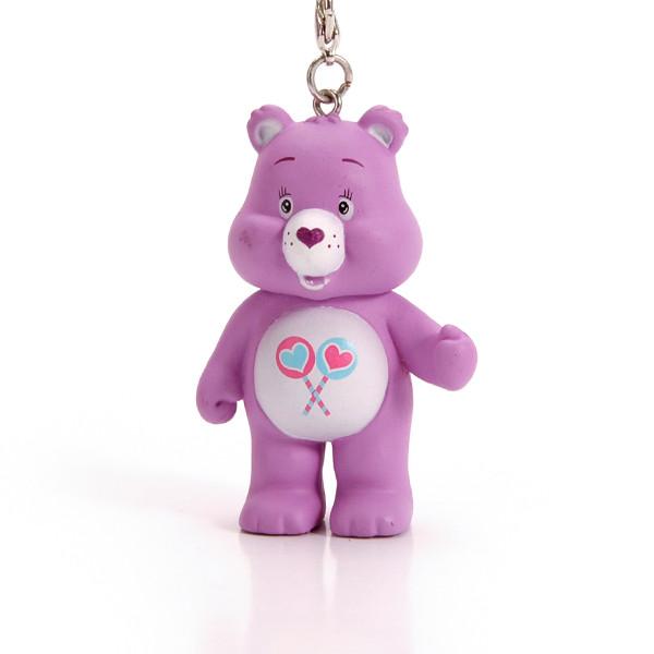 プラスチック製のクマの形のプロモーションキーチェーン