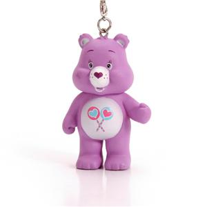 Llavero promocional de forma de oso de plástico