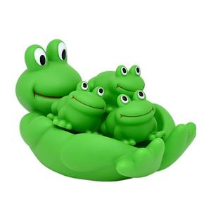 Wholesale Cheap Plastic Soft Vinyl Frog Bath Toys For Baby
