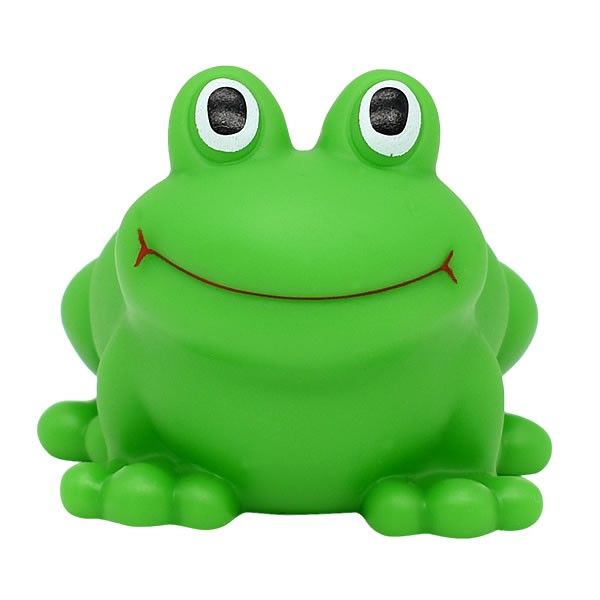 Wholesale Cheap Plastic Soft Vinyl Frog Bath Toys For Baby