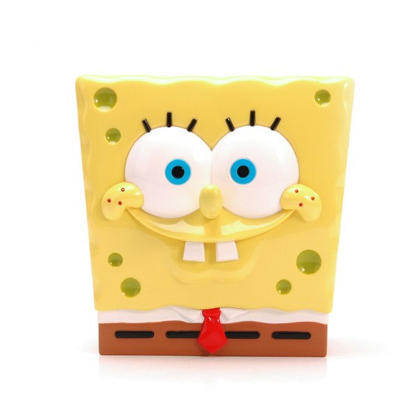 2019 Hot Selling Plastic Sponge Bob Coin Box For Children