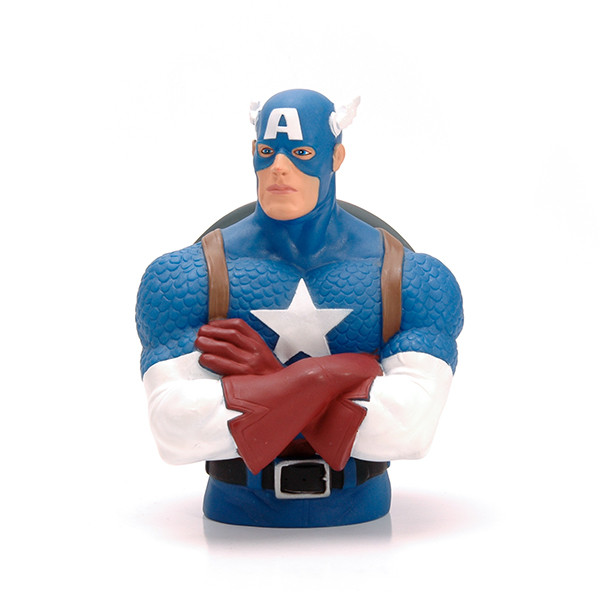 Marvel Plastic Captain American Money Bank For Promotion