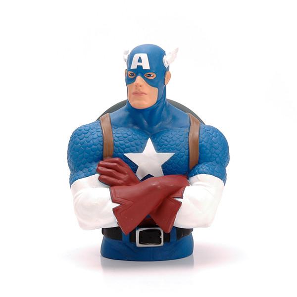 Marvel Plastic Captain American Money Bank per la promozione
