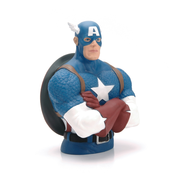 Captain American coin bank