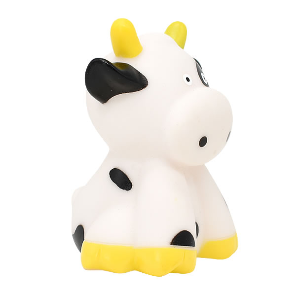 animal Cow Plastic Vinyl baby bath toy