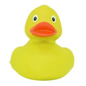 Squeaker 10 cm Kauçuk Yeşil Ördek Plastik Vinil Yeşil Oyuncak Banyo Ördek