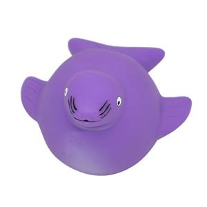 Wholesale Sea Animal Eco-friendly Soft Rubber Baby Bath Toy