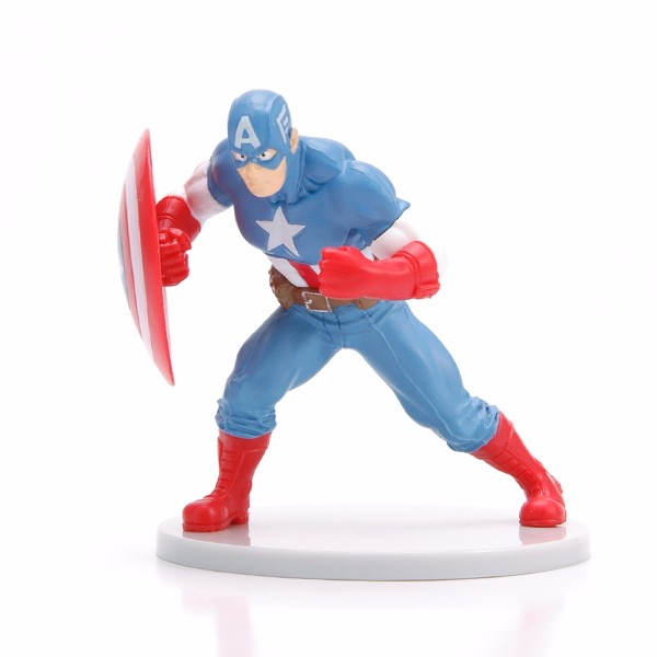 Customized Plastic Captain America Figure Marvel Movie Action Figure