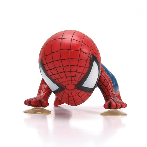 Plastik Marvel Kartun Figurine Spiderman Gambar